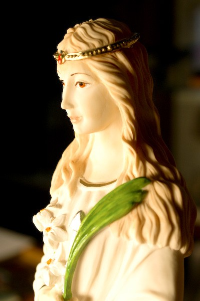 Statue of St Philomena 8