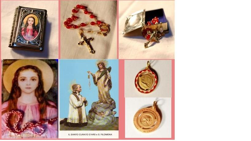 St. John Vianney & St. Philomena Devotion Set 1