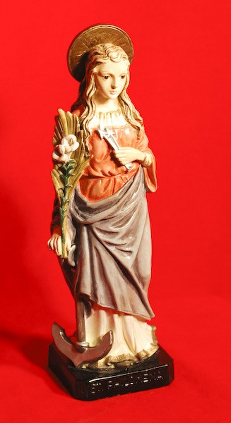 Statue of St. Philomena  9