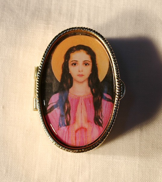 St. Philomena Chaplet with Case (SOLD OUT)