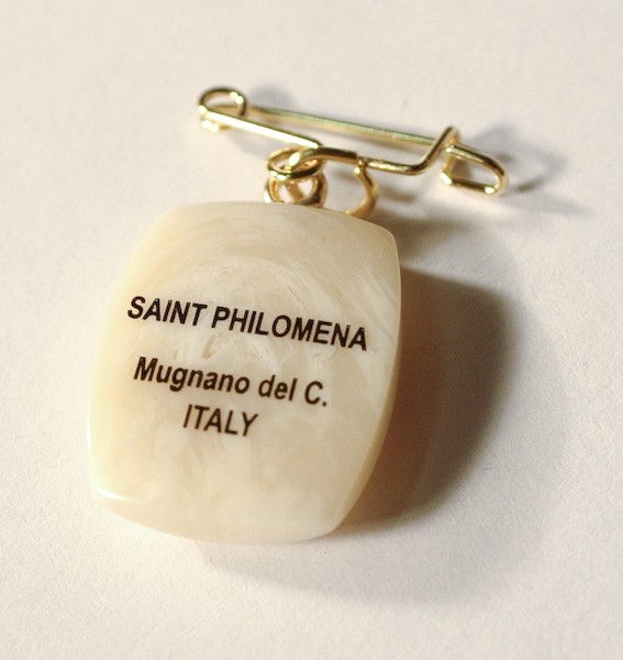 St. Philomena Medal Pin Set (SOLD OUT)