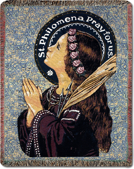 St. Philomena Throw (SOLD OUT)