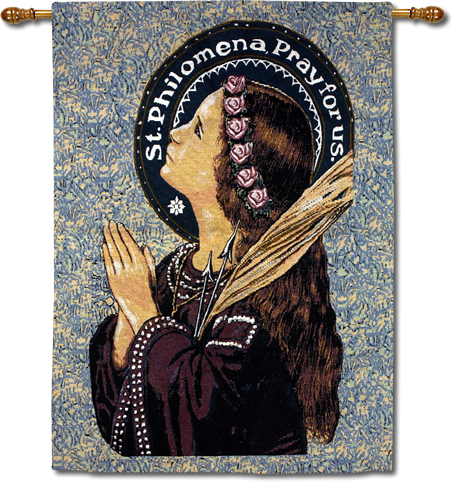 St. Philomena Wall Hanging (SOLD OUT)