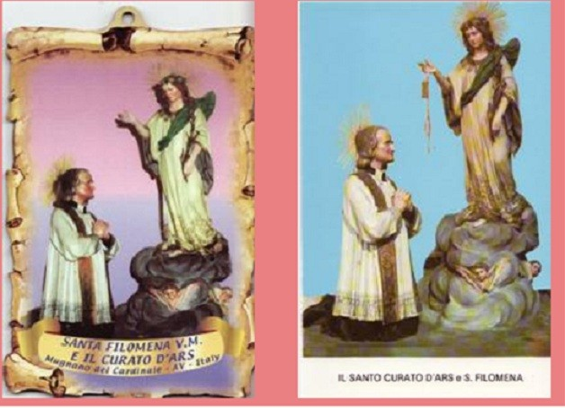 St. John Vianney & St. Philomena Devotion Set 3