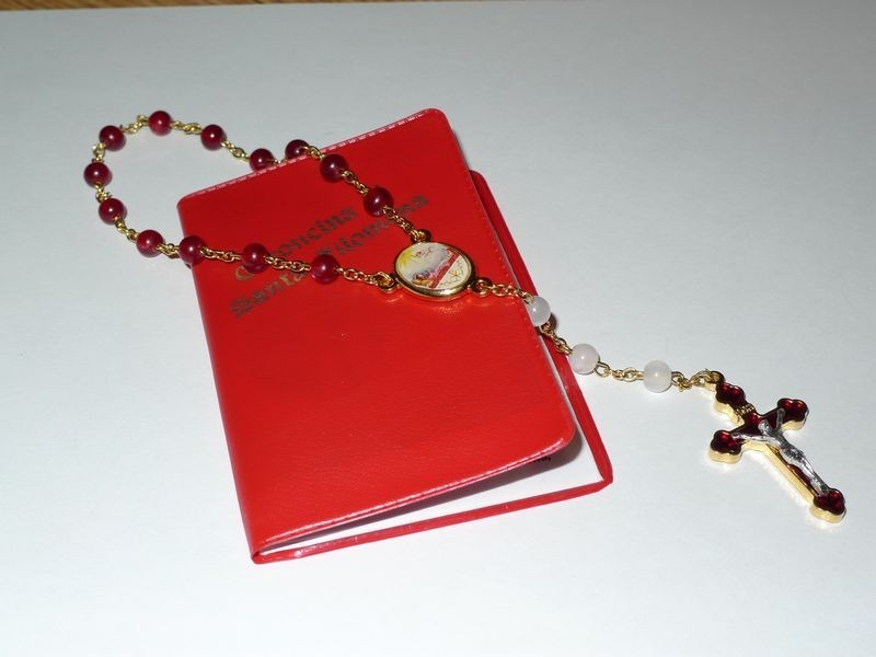 St. Philomena Chaplet and Prayer Card Set