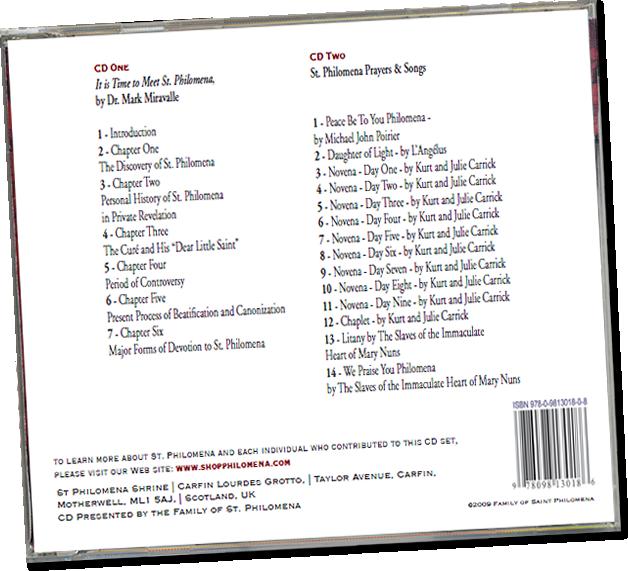 2CD Set St. Philomena