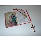 St. Philomena Chaplet and Prayer Card Set